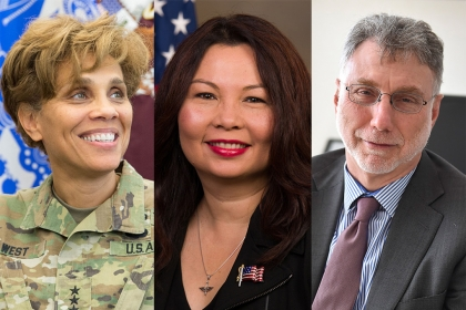 nadja west, tammy duckworth, marty baron
