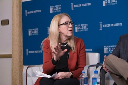 Lynn R. Goldman Milken Institute Global Conference. (Milken Institute)
