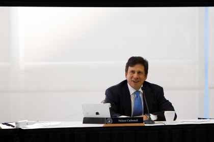Photo of Board of Trustees Chair Nelson Carbonell