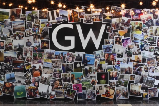 Creating the 2015 GW Holiday Video